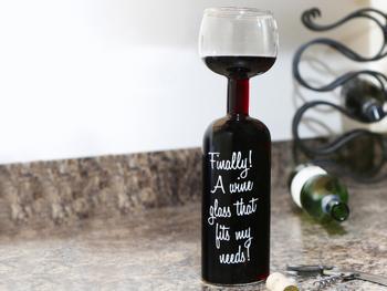 Weinflaschen Glas