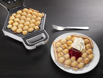 KitchPro Bubble Waffles Waffeleisen