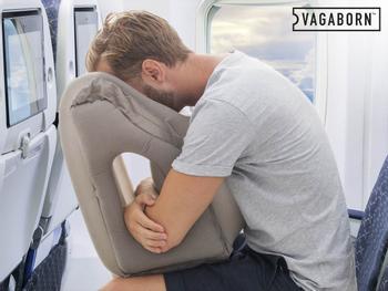 Vagaborn Aufblasbares Reisekissen
