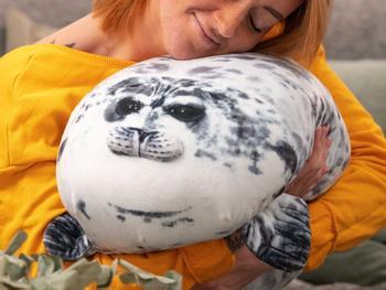 Spralla Seehundkissen