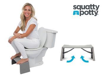 Squatty Potty Porta Faltbarer Toilettenhocker