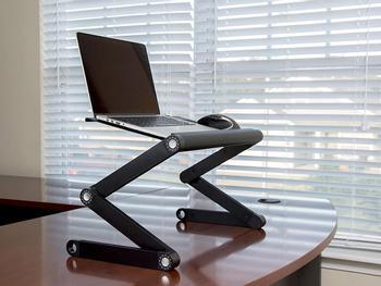 Höhenverstellbarer Laptoptisch Adapt-A-Desk