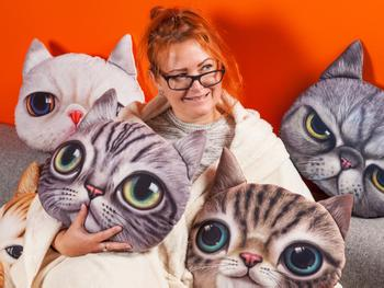 Spralla Katzenkissen